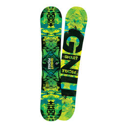 GNU Men's Smart Pickle BTX Asymmetric Freestyle Snowboard '16