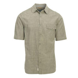Woolrich Men's Zephyr Ridge Solid Short Sleeve Shirt