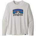 Patagonia Men's Capilene™ Cool Daily Graphic Long Sleeve Shirt alt image view 7