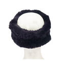 Mitchies Matchings Rabbit Knit Headband Pur