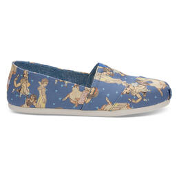 Toms Women's Snow White Alpargata Classic Casual Shoe