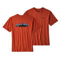 Patagonia Men's Fitz Roy Trout Tee Shirt