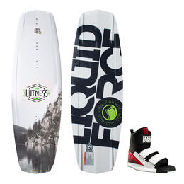 Liquid Force Men's Witness Grind Wakeboard With Domain Bindings '16