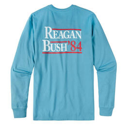 Rowdy Gentleman Men's Reagan Bush '84 Long Sleeve Shirt