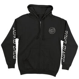 Santa Cruz Men's Edge Dot Zip Hoodie
