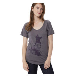 tentree Women's Fox T Shirt