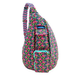 Kavu Women's Rope Bag Backpack Pink Flamingo