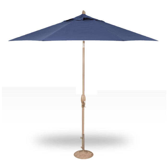 Treasure Garden 9' Auto Tilt Umbrella - Cha