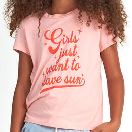 Billabong Girl's Girls Want Sun Short Sleeve T-Shirt