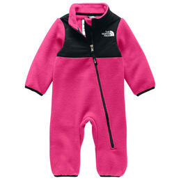 The North Face Infant Denali Fleece One Piece Pink