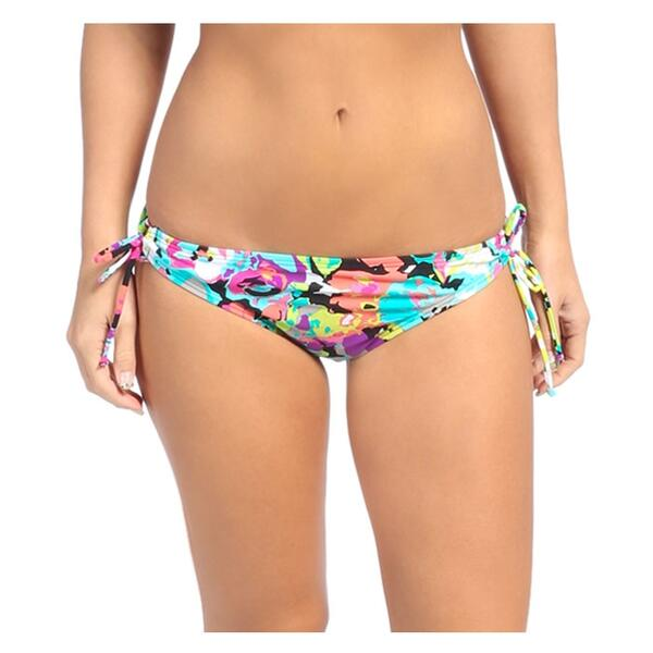 Kenneth Cole Reaction Women's In Full Bloom Adjustable Bikini Bottom