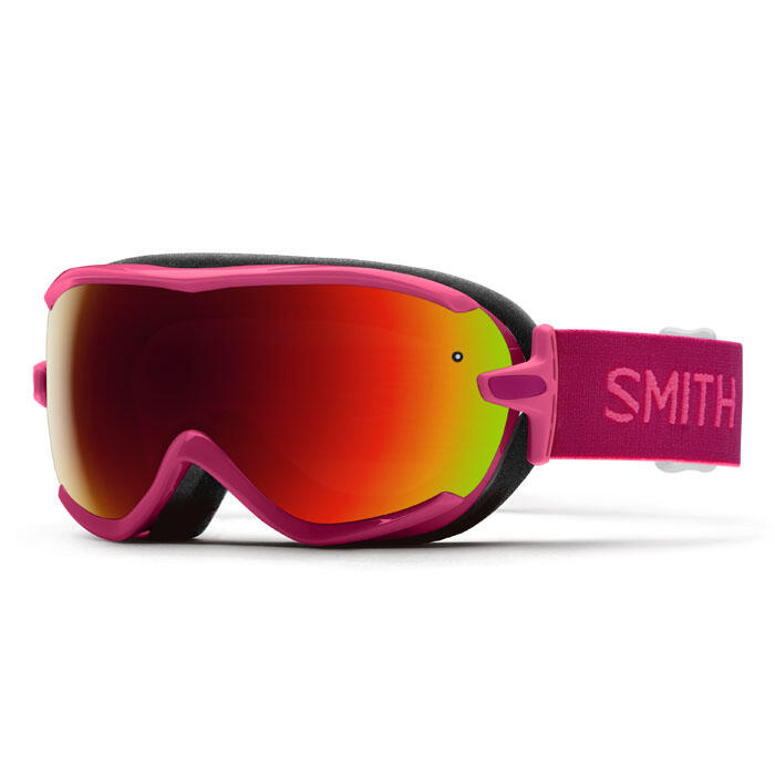 Smith Women's Virtue Snow Goggles With Red