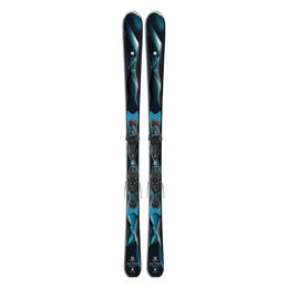 Salomon Women's Astra All Mountain Skis With Lithium 10 W Bindings '17