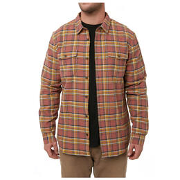 O'neill Men's Backroads Button Down Long Sleeve Shirt