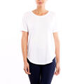 Lucy Women's Final Rep Short Sleeve Top Front White