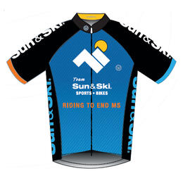 Canari Women's 2016 Bike MS Team Sun & Ski Jersey