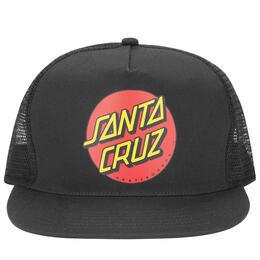 Santa Cruz Men's Classic Dot Trucker Hat