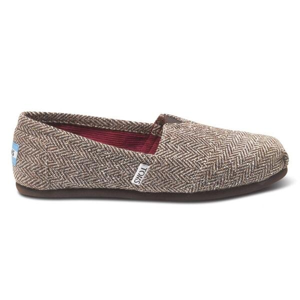 Toms Women's Metallic Herringbone Casual Shoes