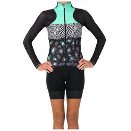 Shebeest Women's Virtue Jersey Ombre Cycling Jersey