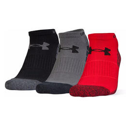 Under Armour Men's Elevated Performance No Show Socks - 3-Pack