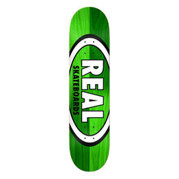 Real Double Dipped Oval 8.5 Skateboard Deck