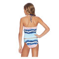 Splendid Girl's Tie Dye Stripe Tankini Swim