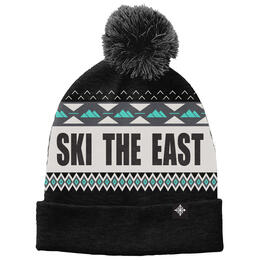Ski The East Men's Powder Day Pom Beanie