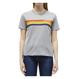 Dickies Girl Women's Vintage Rainbow Chest Short Sleeve T Shirt