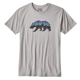 Patagonia Men's Fitz Roy Bear Cotton/Poly T Shirt