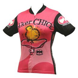 World Jerseys Women's Precaryous Biker Chick Cycling Jersey