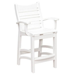 Casual Comfort Bay Shore Pub Chair with Arms