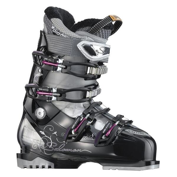 Salomon Women's Divine RS 8 All Mountain Ski Boots '12