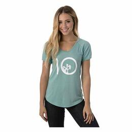 tentree Women's Leaf Ten Tee Shirt