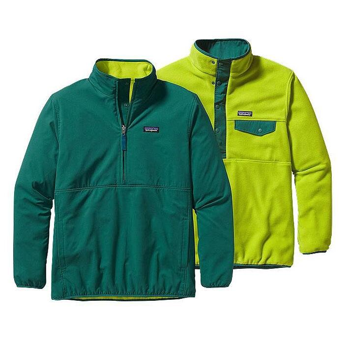 Patagonia Men's Reversible Snap-t Glissade Pullover