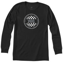 Vans Men's OPG Checker Long Sleeve T Shirt