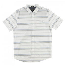 O'Neill Men's Stripe Short Sleeve Button Up Shirt