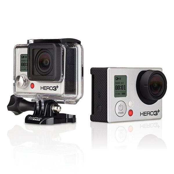GoPro HD Hero3+: Silver Edition Camera