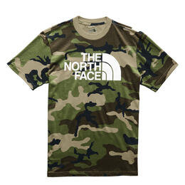 The North Face Men's Camo Half Dome Short Sleeve T Shirt