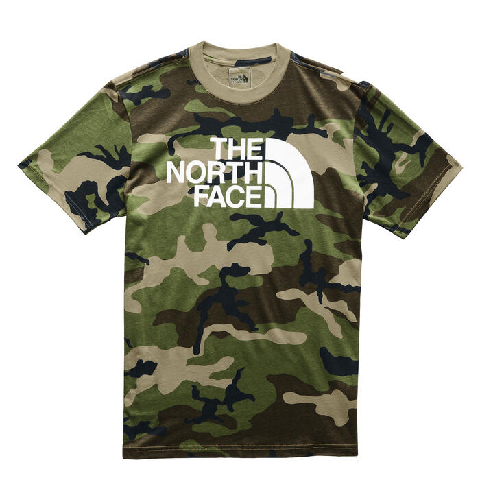 The North Face Men's Camo Half Dome Short S