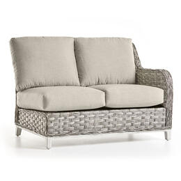 South Sea Rattan Grande Isle Right Arm Loveseat