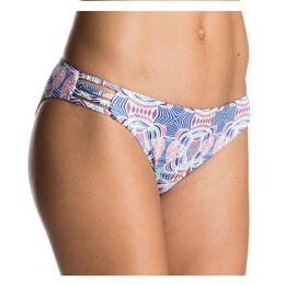 Roxy Women's Strappy Love 70s Reversible Bikini Bottoms