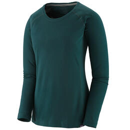 Patagonia Women's Capilene® Midweight Crew Baselayer Top Green