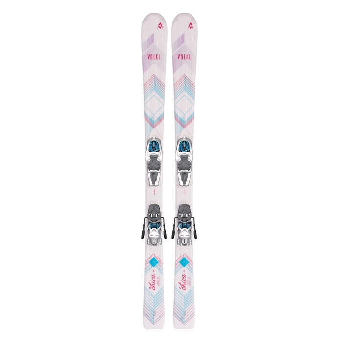 Volkl Girl's Chica All Mountain Skis with 3