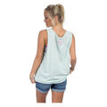 Back of Lauren James Women's Texas Lovely State Tank Top