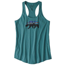 Patagonia Women's Fitz Roy Bear Organic Tank Top
