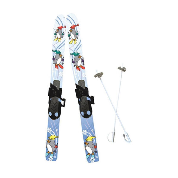 SAA Little Racer Chaser Kid's Skis With Bin
