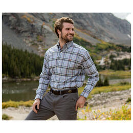 Southern Marsh Men's Hays Performance Check Dress Shirt