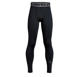 Under Armour Boy's Youth Coldgear Armour Printed Leggings