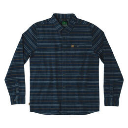 Hippy Tree Men's Vista Long Sleeve Flannel
