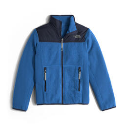The North Face Boy's Reversible Off The Grid Fleece Jacket